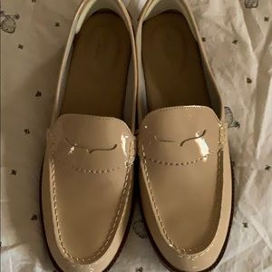 Sperry loafers beige